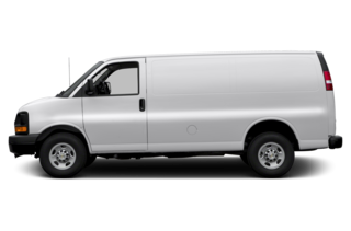 2016 Chevrolet Express 2500 Express 2500 Work Van Rear-wheel Drive Cargo Van
