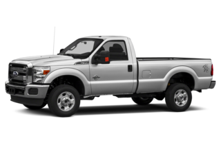 2016 Ford F-350 XL 4x4 Regular Cab 8 ft. box 137 in. WB