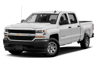 2017 Chevrolet Silverado 1500 WT 4x2 Crew Cab 5.75 ft. box 143.5 in. WB