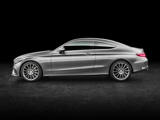 2017 Mercedes-Benz C-Class C300 Rear-wheel Drive Coupe