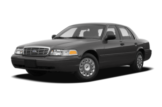 2008 Ford Crown Victoria Long (900A) Commercial HD Sedan