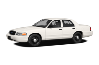 2008 Ford Crown Victoria Interceptor w/3.27 (720A) Police Interceptor Sedan
