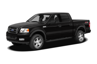 2008 Ford F-150 SuperCrew F-150 SuperCrew FX4 4x4 SuperCrew Cab Styleside Styleside 6.5' Box
