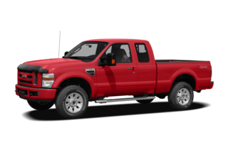 2008 Ford F-250 F-250 Lariat 4x2 SD Super Cab Short Box
