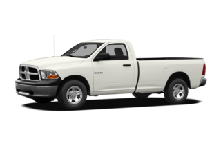 2010 Dodge Ram 1500 Ram 1500 SLT/TRX 4x2 Regular Cab 8' Box