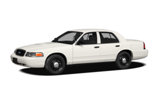 2010 Ford Crown Victoria Long (900A) Commercial HD Sedan
