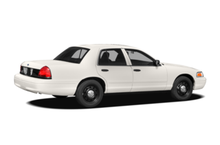 2010 Ford Crown Victoria Street Appearance w/3.27 (750A) Police Interceptor