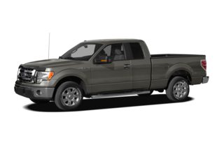 2010 Ford F-150 F-150 XL 4x4 Super Cab Styleside 8' Box