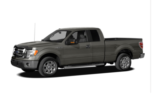2011 Ford F-150 F-150 XLT 4x4 Super Cab Styleside 8' Box