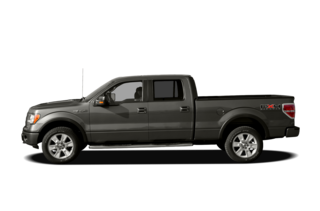 2011 Ford F-150 F-150 Lariat Limited AWD SuperCrew Cab Styleside 5.5' Bo