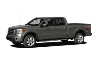 2011 Ford F-150 F-150 Platinum 4x4 SuperCrew Cab Styleside 6.5' Box