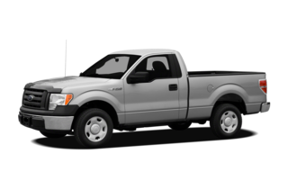 2012 Ford F-150 F-150 XL 4x4 Regular Cab Styleside 6.5' Box