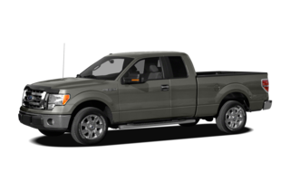 2012 Ford F-150 F-150 Lariat 4x2 Super Cab Styleside 6.5' Box