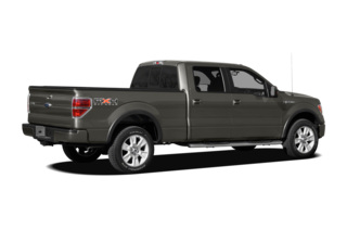 2012 Ford F-150 F-150 FX4 4x4 SuperCrew Cab Styleside 5.5' Box