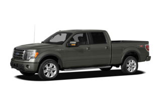 2012 Ford F-150 F-150 XL 4x4 SuperCrew Cab Styleside 6.5' Box