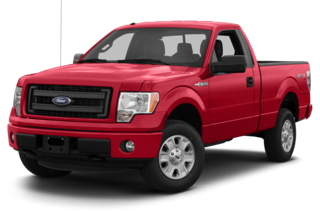 2013 Ford F-150 F-150 XLT 4x4 Regular Cab Styleside 6.5' Box
