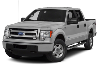 2013 Ford F-150 F-150 XL 4x2 SuperCrew Cab Styleside 5.5' Box