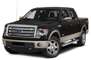 2013 Ford F-150 F-150 King Ranch 4x4 SuperCrew Cab Styleside 5.5' Box