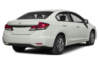 2015 Honda Civic LX (M5) Sedan