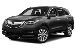 2016 Acura MDX w/Technology and Entertainment Pkgs (A9) SH-All-Wheel-Drive