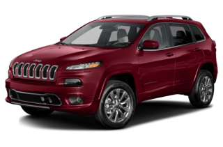2016 Jeep Cherokee Overland 4dr Front-wheel Drive