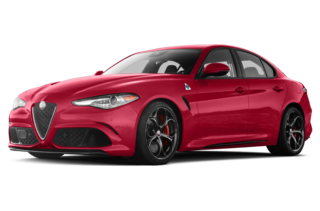 2017 Alfa Romeo Giulia Quadrifoglio 4dr Rear-wheel Drive Sedan