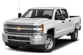 2017 Chevrolet Silverado 2500HD 2500HD WT 4x2 Crew Cab 8 ft. box 167.7 in. WB