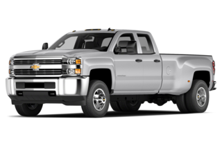2017 Chevrolet Silverado 3500HD 3500HD WT 4x2 Double Cab 158.1 in. WB DRW