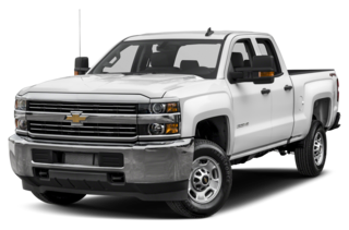 2017 Chevrolet Silverado 3500HD 3500HD WT 4x4 Double Cab 158.1 in. WB SRW