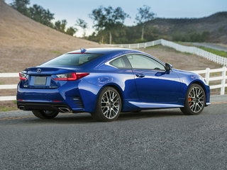 2017 Lexus RC 200t 200t Base 2dr Rear-wheel Drive Coupe