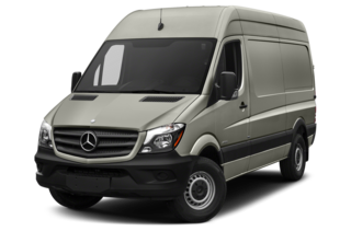 2017 Mercedes-Benz Sprinter 2500 2500 High Roof I4 Cargo Van 170 in. WB Rear-wheel Drive
