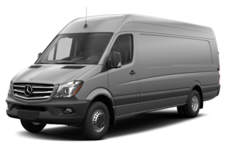 2017 Mercedes-Benz Sprinter 3500XD 3500XD High Roof V6 Extended Cargo Van 170 in. WB Rear-wheel Drive DRW
