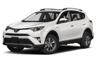 2017 Toyota RAV4 Hybrid Hybrid LE Plus 4dr All-wheel Drive