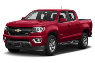 2018 Chevrolet Colorado Z71 4x4 Crew Cab 5 ft. box 128.3 in. WB