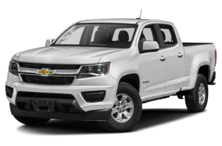 2018 Chevrolet Colorado WT 4x2 Crew Cab 6 ft. box 140.5 in. WB