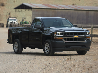 2018 Chevrolet Silverado 1500 WT 4x2 Regular Cab 6.6 ft. box 119 in. WB
