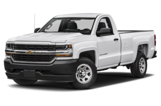 2018 Chevrolet Silverado 1500 WT 4x2 Regular Cab 8 ft. box 133 in. WB