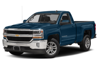 2018 Chevrolet Silverado 1500 LT w/2LT 4x4 Regular Cab 8 ft. box 133 in. WB