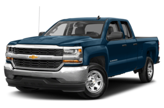 2018 Chevrolet Silverado 1500 LS 4x4 Double Cab 6.6 ft. box 143.5 in. WB