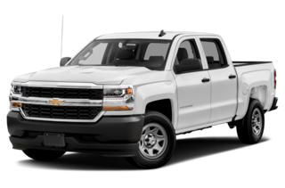 2018 Chevrolet Silverado 1500 WT 4x2 Crew Cab 6.6 ft. box 153 in. WB