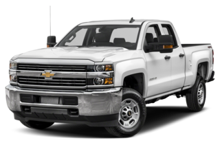 2018 Chevrolet Silverado 3500HD WT 4x4 Double Cab 158.1 in. WB SRW