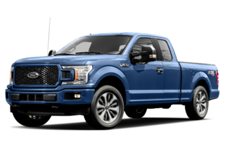 2018 Ford F-150 XLT 4x2 SuperCab Styleside 6.5 ft. box 145 in. WB