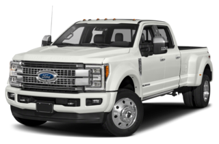 2018 Ford F-450 Platinum 4x2 SD Crew Cab 8 ft. box 176 in. WB DRW