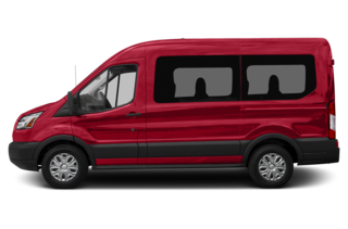 2018 Ford Transit-150 Transit-150 XLT w/Sliding Pass-Side Cargo Door Medium Roof Passenger Wagon 130 in. WB