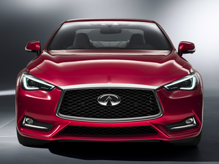 2018 Infiniti Q60 3.0t Red Sport 400 2dr All-wheel Drive Coupe