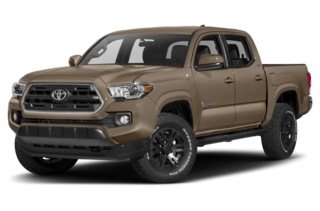 2018 Toyota Tacoma SR5 V6 (A6) 4x2 Double Cab 140.6 in. WB