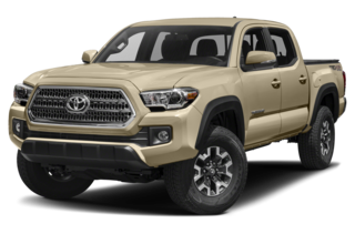2018 Toyota Tacoma TRD Off Road V6 (A6) 4x4 Double Cab 140.6 in. WB