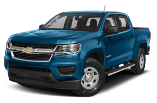 2019 Chevrolet Colorado WT 4x2 Crew Cab 5 ft. box 128.3 in. WB