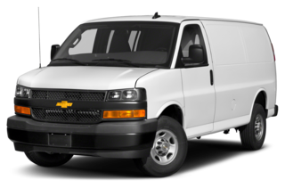 2019 Chevrolet Express 2500 2500 Work Van Rear-wheel Drive Extended Cargo Van