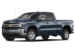 2019 Chevrolet Silverado 1500 Work Truck 4x2 Double Cab 6.6 ft. box 147.4 in. WB
